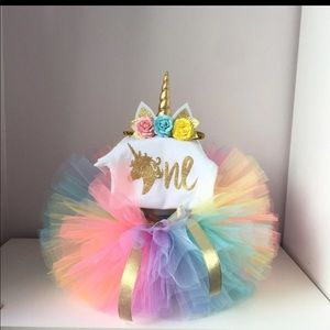Boutique Unicorn tutu set 🦄